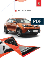 MG GS Accessory Brochure