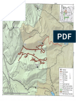 Trail closure map Mount Jefferson Wilderness