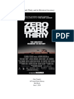 history vs hollywood paper - zero dark thirty