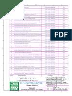Lista de Partes Unidad Hidraulica San Expedito