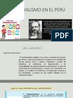 Asistencialismo en El Perú