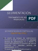 10º y 11°clase - sedimentación y sedimentadores