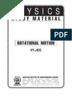 28893107 IIT Class XI Phy Rotation Motion
