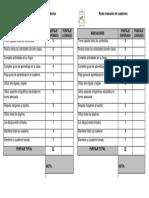 Pauta Evaluación de Cuadernos