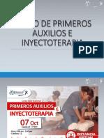 Curso de Primeros Auxilios e Inyectoterapia Clase 1.