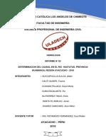 Determinacion Del Caudal Del Rio Yucaes (1)Con Bibliografia.