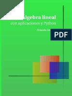 Algebra lineal con aplicaciones y Python - Ernesto Aranda.pdf