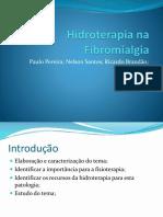 Fibromialgia - hidroterapia