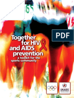 UNAIDS - Together for HIV and AIDS Prevention in Sports