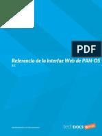 PAN OS Panorama 81 Help Web Int Ref Spanish