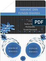 Hakikat Dan Fungsi Bahasa Klp 1