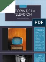 Historia de La Televisión