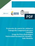 Protocolo de control de calidad en CT 1.9