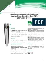 Cable Subterraneo Xlp Cu