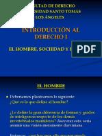 Introduccion Hombre,Sociedad y Derecho
