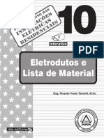 10 - Eletrodutos e Lista de Material
