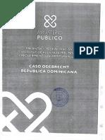 Acusación del Ministerio Público en el caso Odebrecht