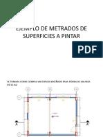 Ejemplo de Metrados de Superficies a Metrar