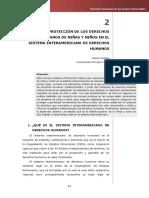 La protección de los derechos humanos de niñas, niños y adolescentes en el Sistema Interamericano de Derechos Humanos