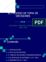 El Proceso de Toma de Decisiones 1226035722686322 8