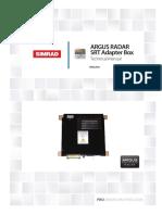 ArgusRadar SRT-Adapter-Box TM en 988-10610-001 w