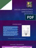 Cirugía Laparoscópica ginecológica