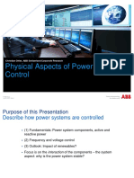 ABB Physical Aspects of Power Systems Control
