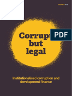Corrupt but Legal