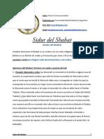 Sidur Del Shabat