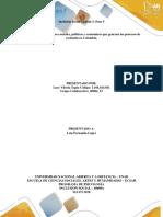 Ensayo Sobre Los Factores Sociales, Políticos y Económicos Que Generan Los Procesos de Exclusión en Colombia,