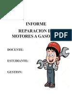 Arreglo de Motor a Gasolina