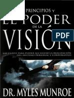 Los Prinipios y El Poder de La Vision Myles Munroe