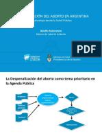 Conclusiones ministro de Salud de la Nación Adolfo Rubinstein