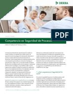 Dekra Whitepaper Process Safety Competency Es v1