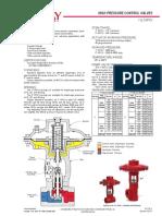 Informacion Tecnica Valvula Motora Gas de Alta