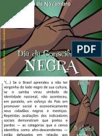Consciência negra importância