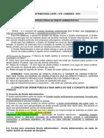 Caderno Sistematizado I e II Direito