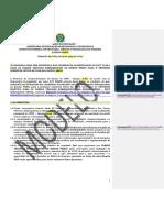 Edital Nº XX-201Z_2ª Chamada_PSCT Subsequente 2018.1_Campus Areia (MODELO)