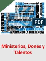 Ministerios, Dones y Talentos 2 x 30