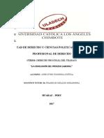 LA CONCLUSIÓN DEL PROCESO LABORAL_john.doc