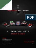 Automobilista User Guide