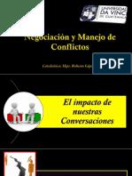 Negociación y Nuestras Conversaciones