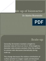 Bioreactor Scale Up
