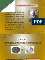 POPIEDADES INGENIERILES DE LA GEOLOGIA