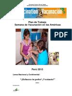 Plan Americas 2015 Minsa
