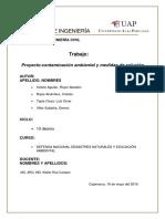 Proyecto Defenza Contaminacion Ambiental