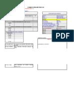 Datos Aislamiento Motor Dc