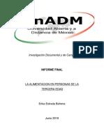 Integracion y Redaccion Del Informe