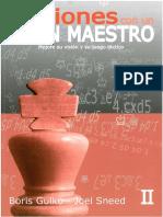 Lecciones Con Un Gran Maestro II – Gulko-Sneed