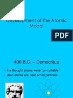 11 development of the atomic model